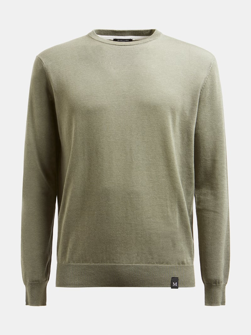 MARCIANO ROUND-NECK SWEATER image number 3
