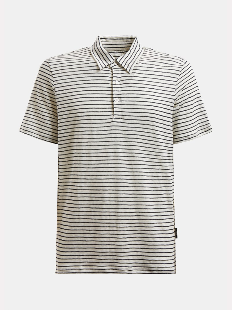 MARCIANO LINEN POLO SHIRT image number 3