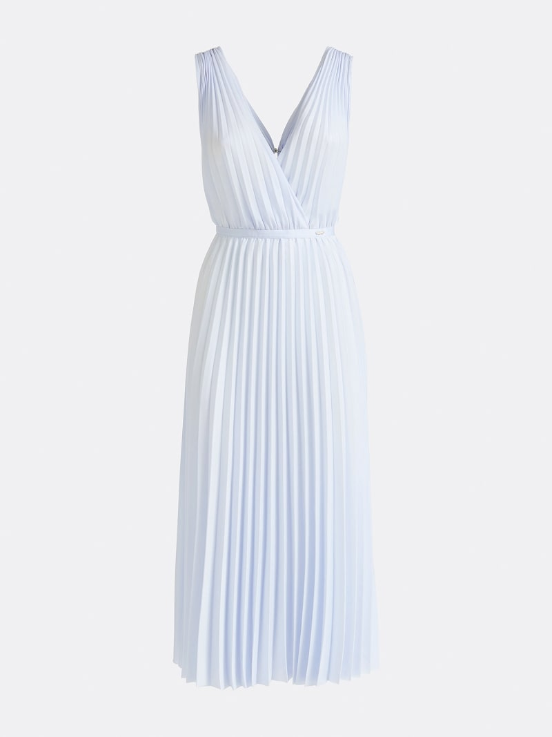 MARCIANO PLEATED DRESS image number 2