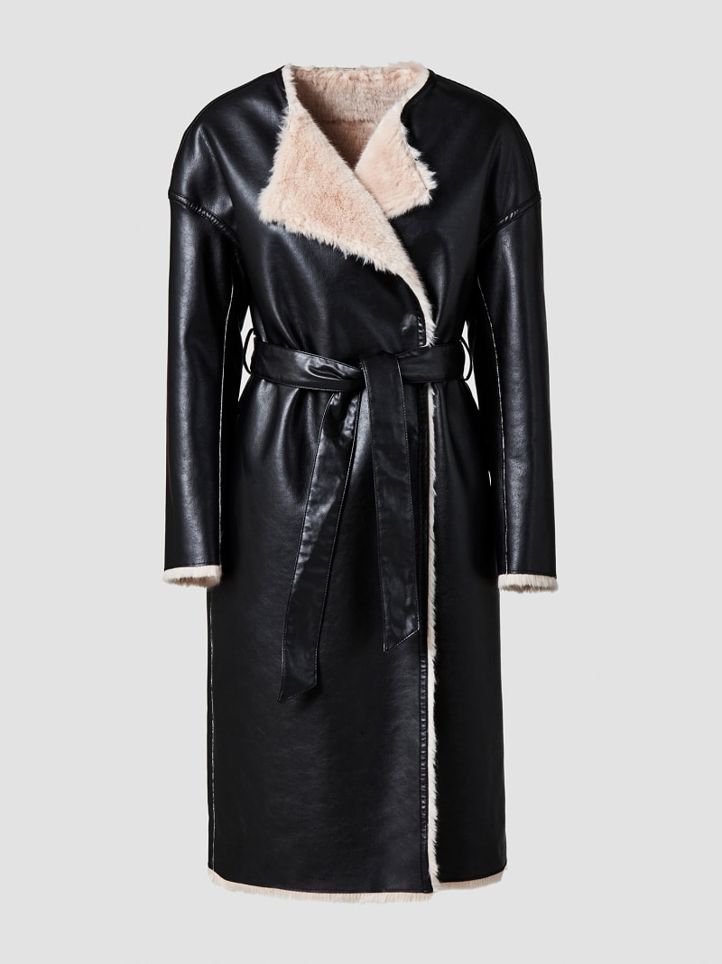 MARCIANO COATED-LOOK COAT image number 5