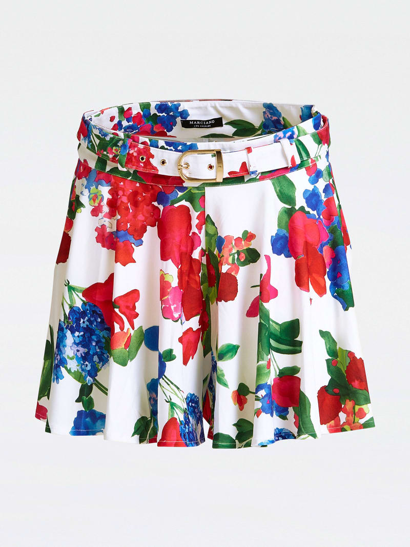 MARCIANO FLORAL SKIRT image number 3