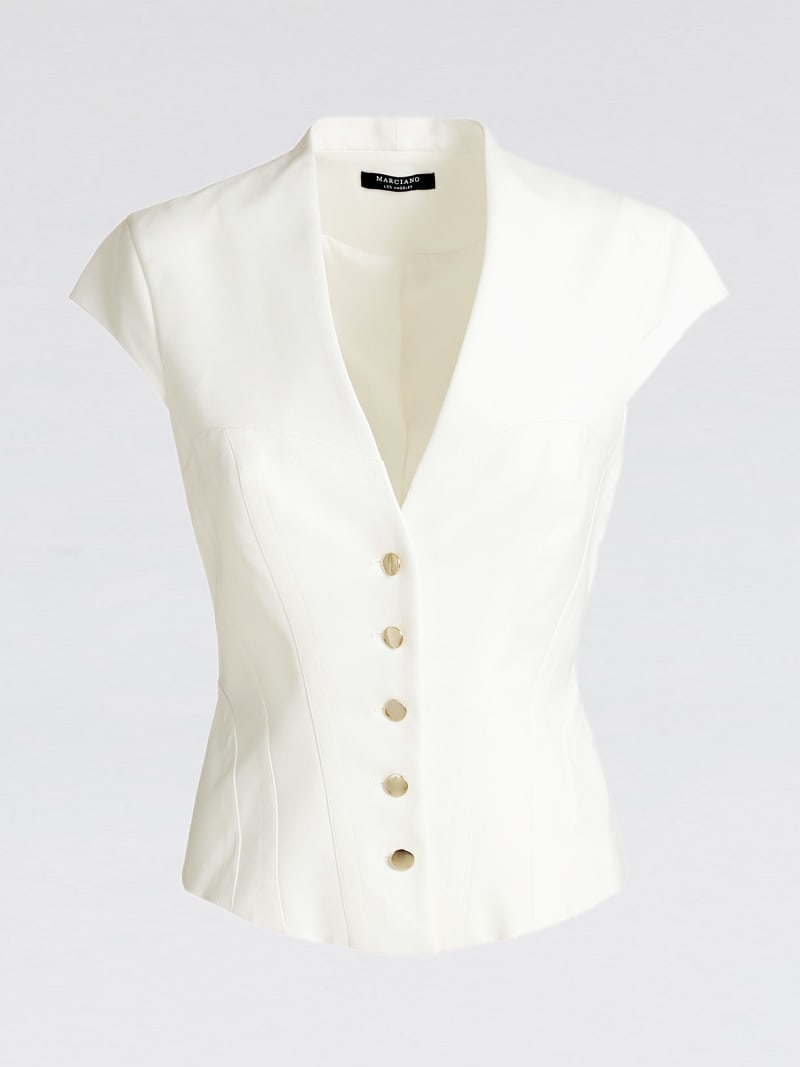 MARCIANO BLAZER WITH BUTTONS image number 3