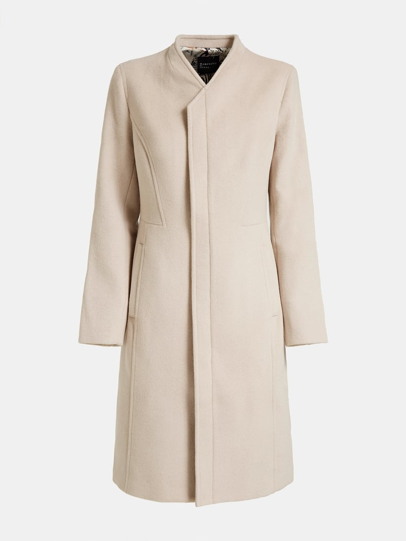MARCIANO COAT WITH POCKETS image number 3