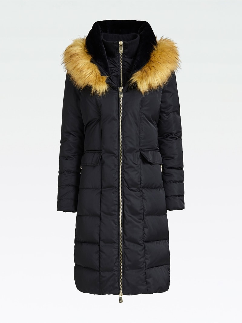 MARCIANO LONG PADDED JACKET  image number 3
