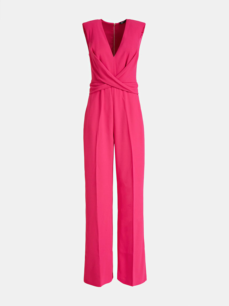 MARCIANO JUMPSUIT CROSSED AT FRONT image number 2