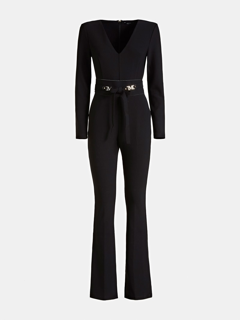 MARCIANO JUMPSUIT WITH BRANDED BELT image number 2