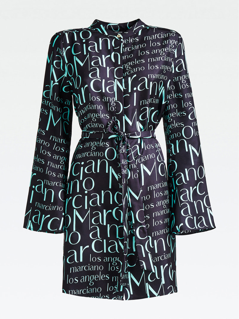MARCIANO LOGO PRINT DRESS image number 2