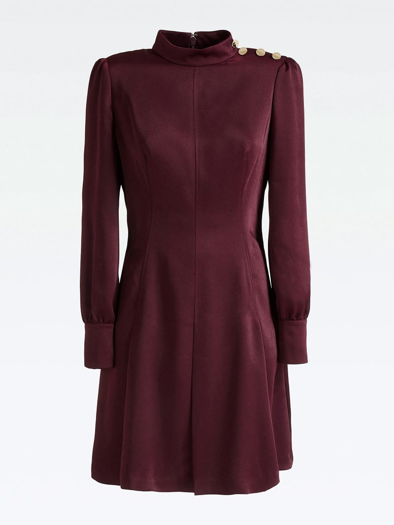 MARCIANO DRESS WITH BUTTONS image number 2