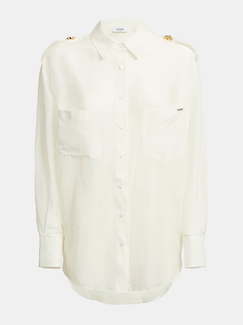 BUTTON ICONIC SHIRT image number 4