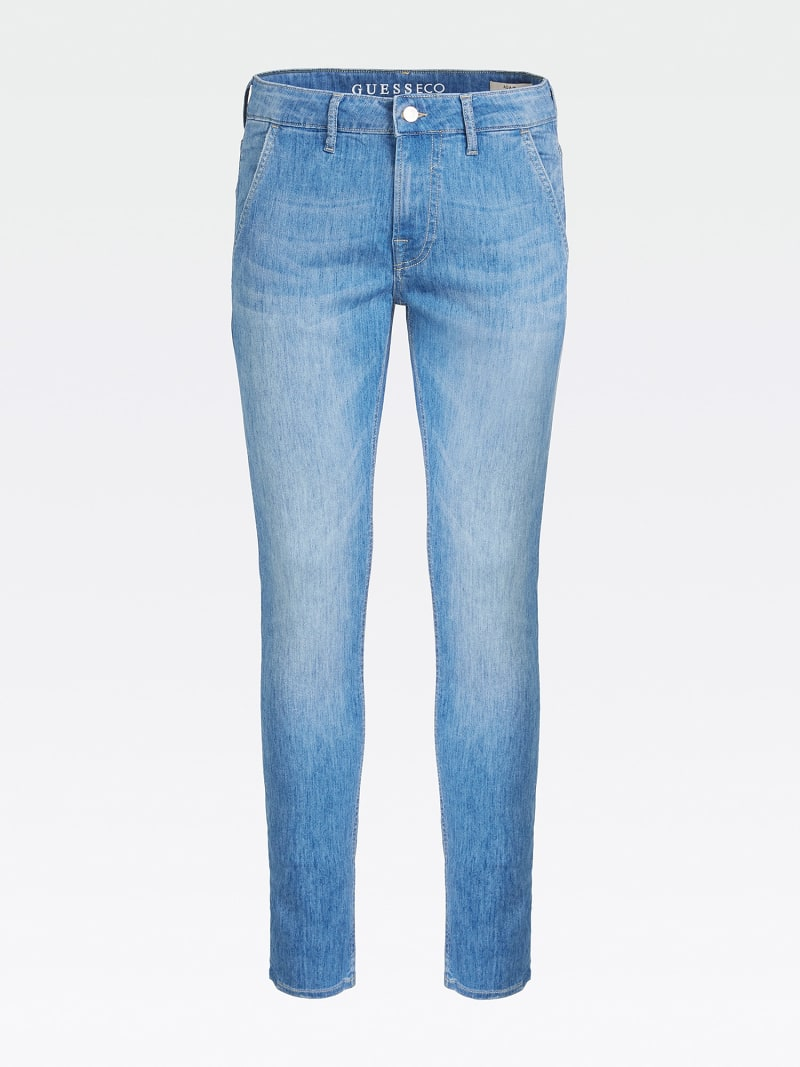SUPER SKINNY FIT DENIM PANT image number 3