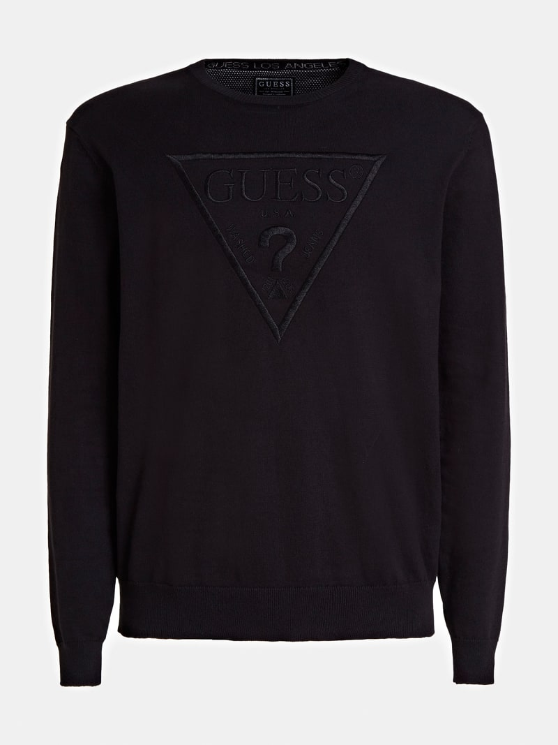 TRIANGLE LOGO SWEATER image number 3