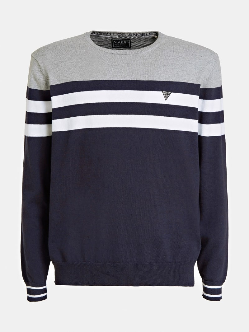 STRIPED SWEATER image number 3