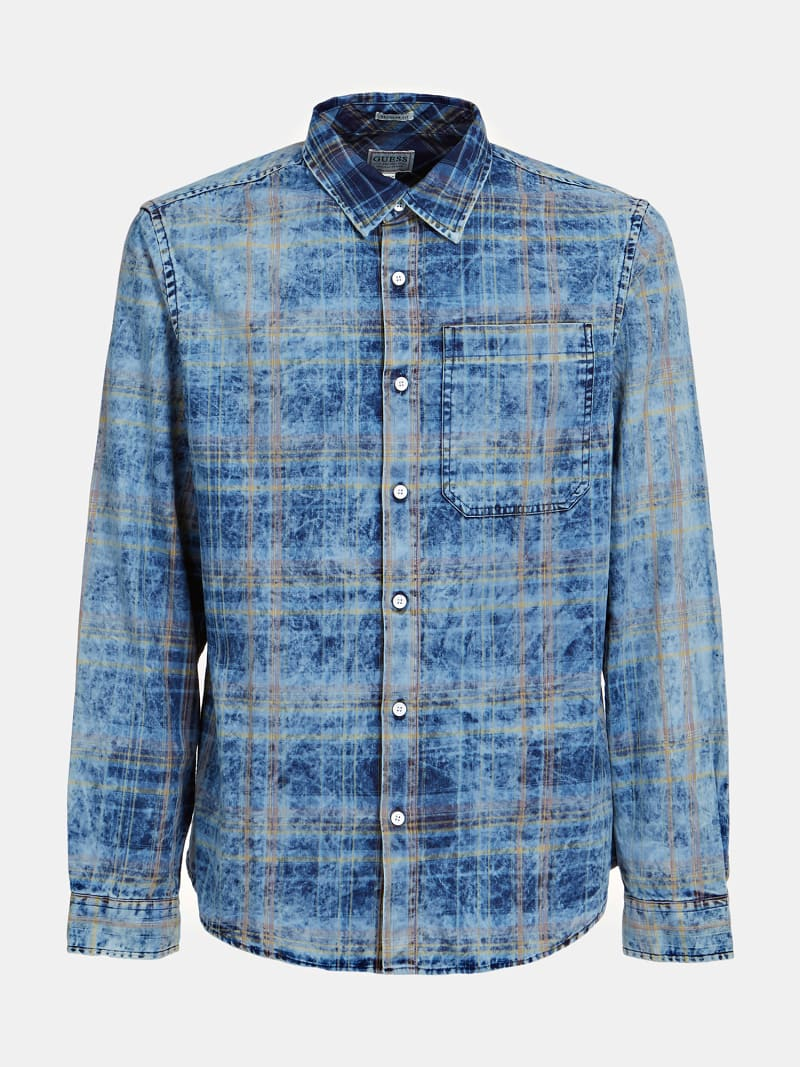 CHECK PRINT SHIRT image number 3