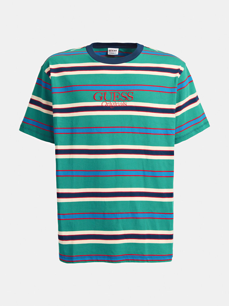 STRIPE PATTERN T-SHIRT image number 3