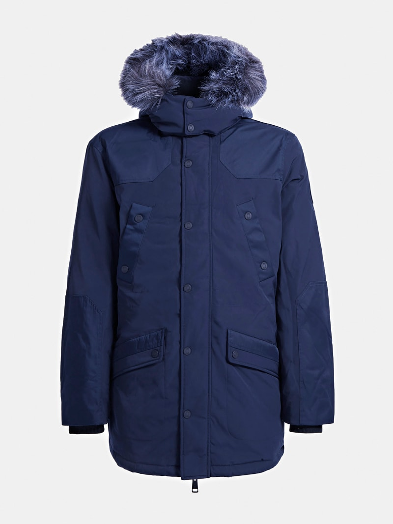 REAL DOWN HOODED PARKA image number 3