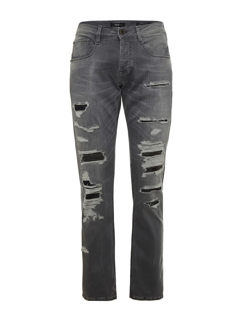 JEANS STRAPPI FRONTALI image number 3