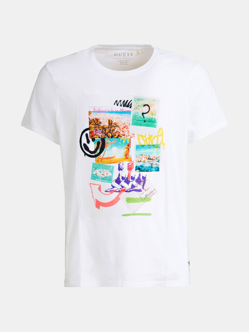 PRINTED FRONT T-SHIRT image number 4