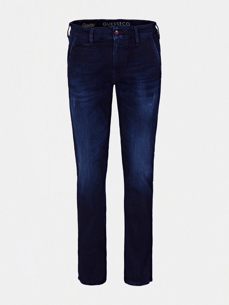 USED-LOOK JEANS image number 3