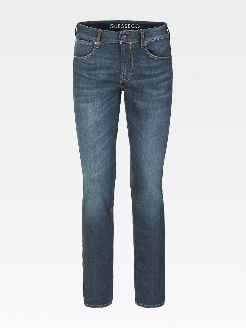 USED-LOOK SKINNY JEANS image number 3