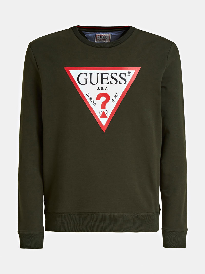 TRIANGLE LOGO FRONT SWEATSHIRT image number 3