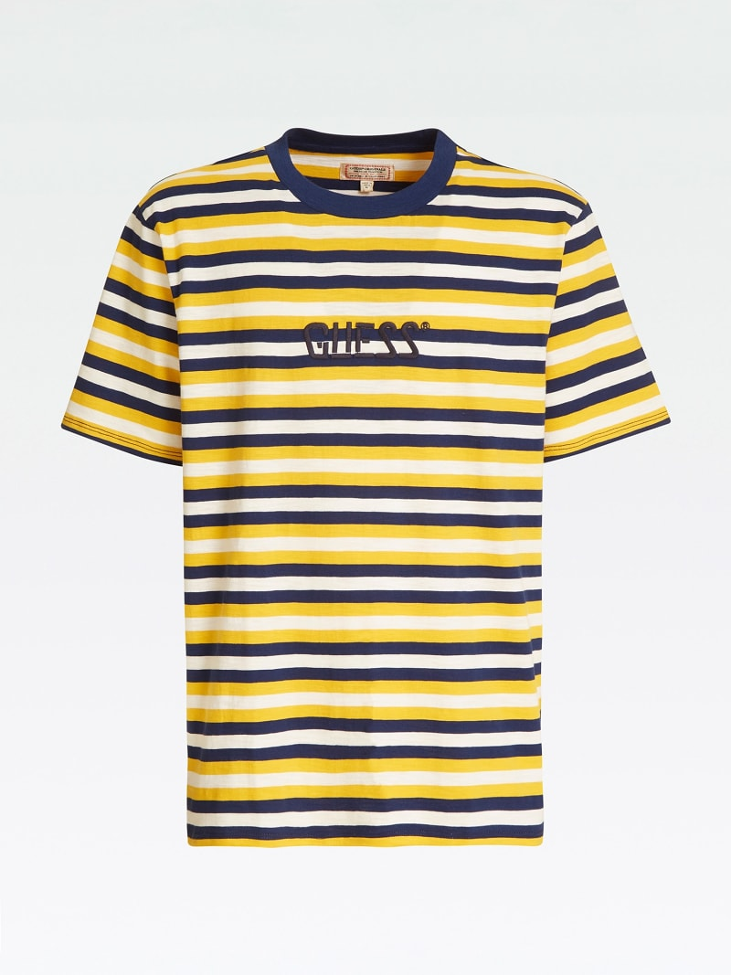 STRIPE MOTIF T-SHIRT image number 4