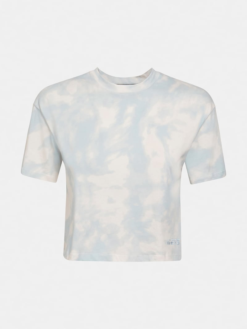 T-SHIRT W PRINT TIE-DYE image number 3