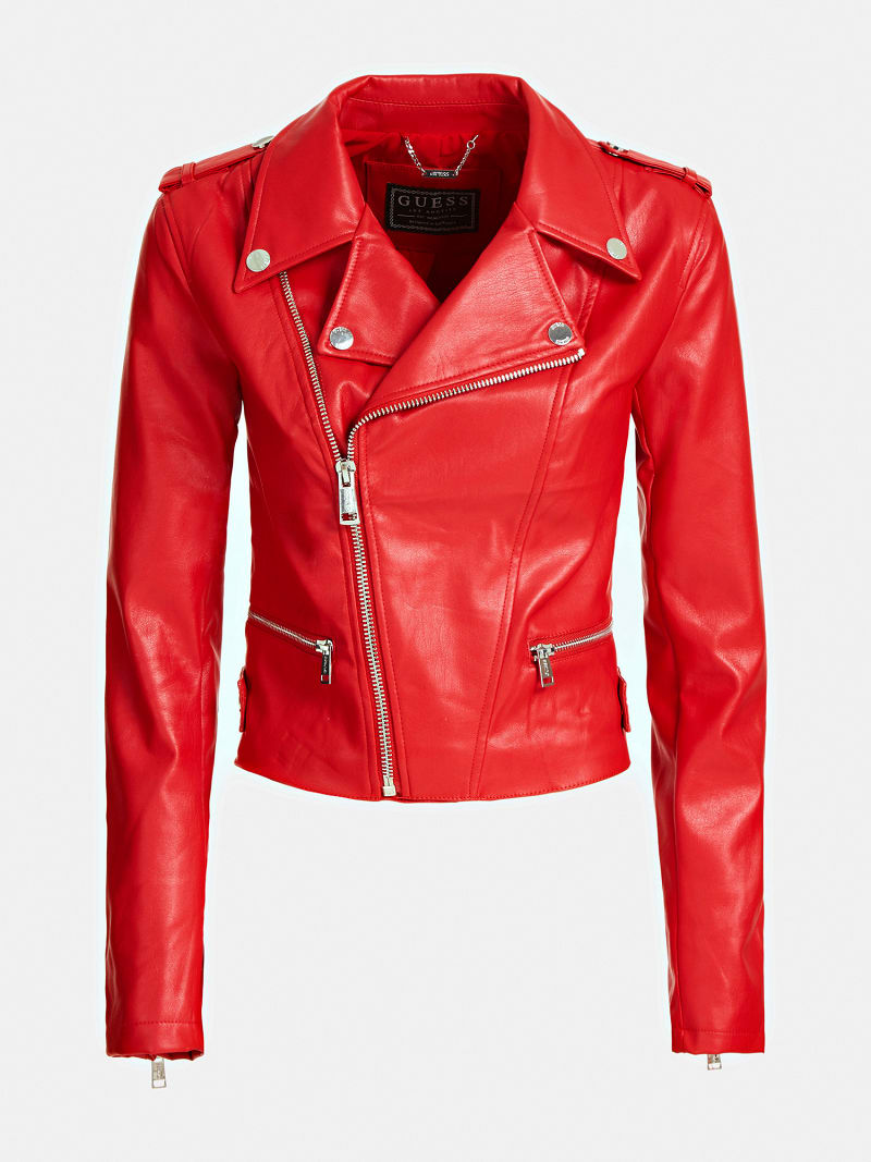 FAUX LEATHER JACKET image number 3