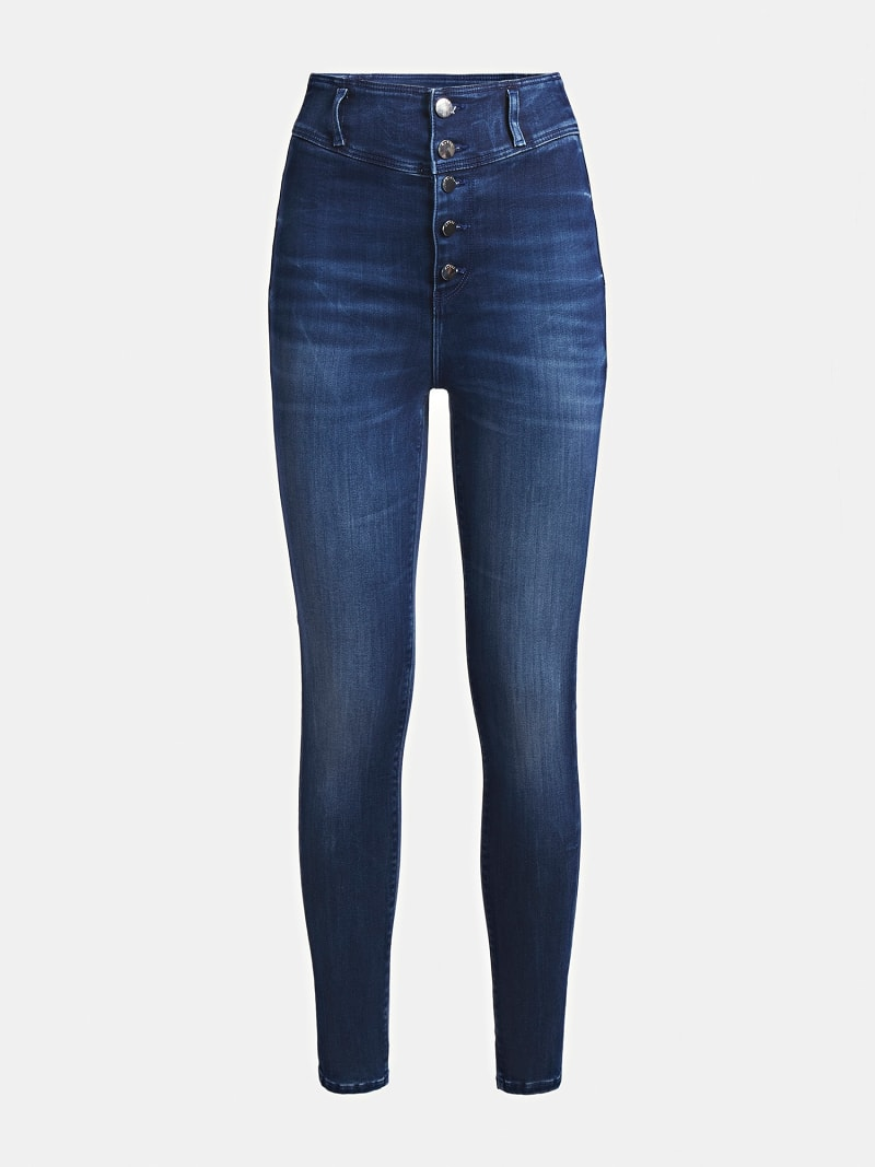 WARM TOUCH SKINNY FIT DENIM PANT image number 6