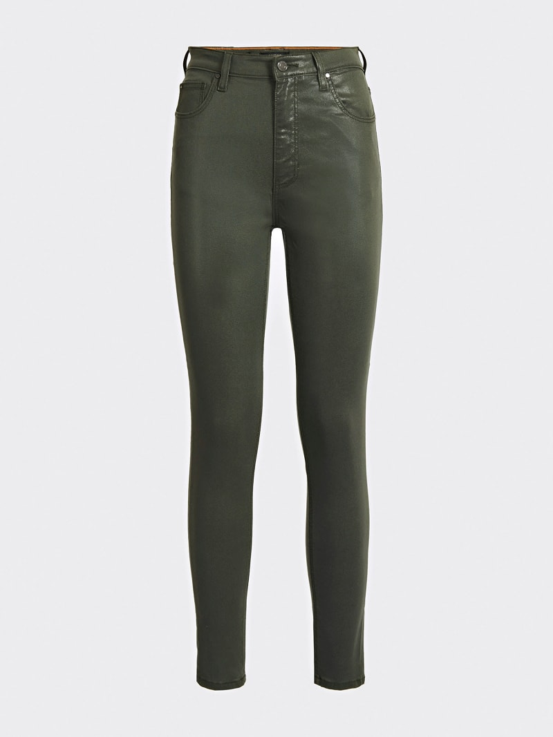 COATED SKINNY FIT PANT image number 3