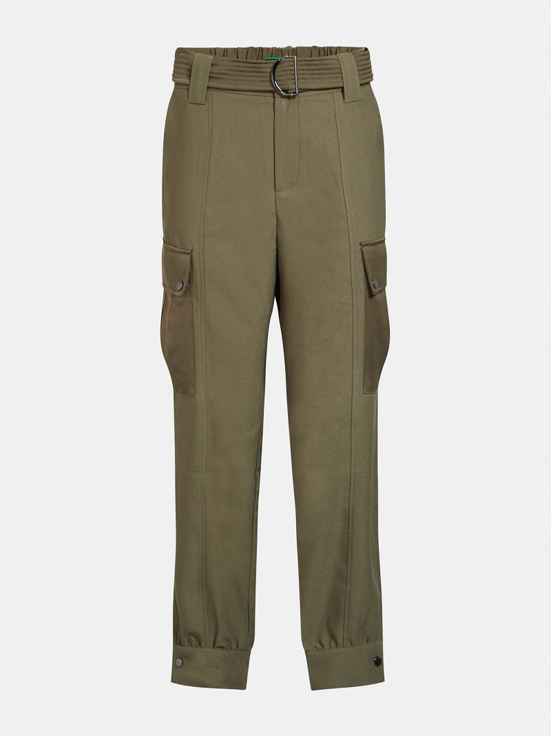 CARGO FIT SATIN PANT image number 3