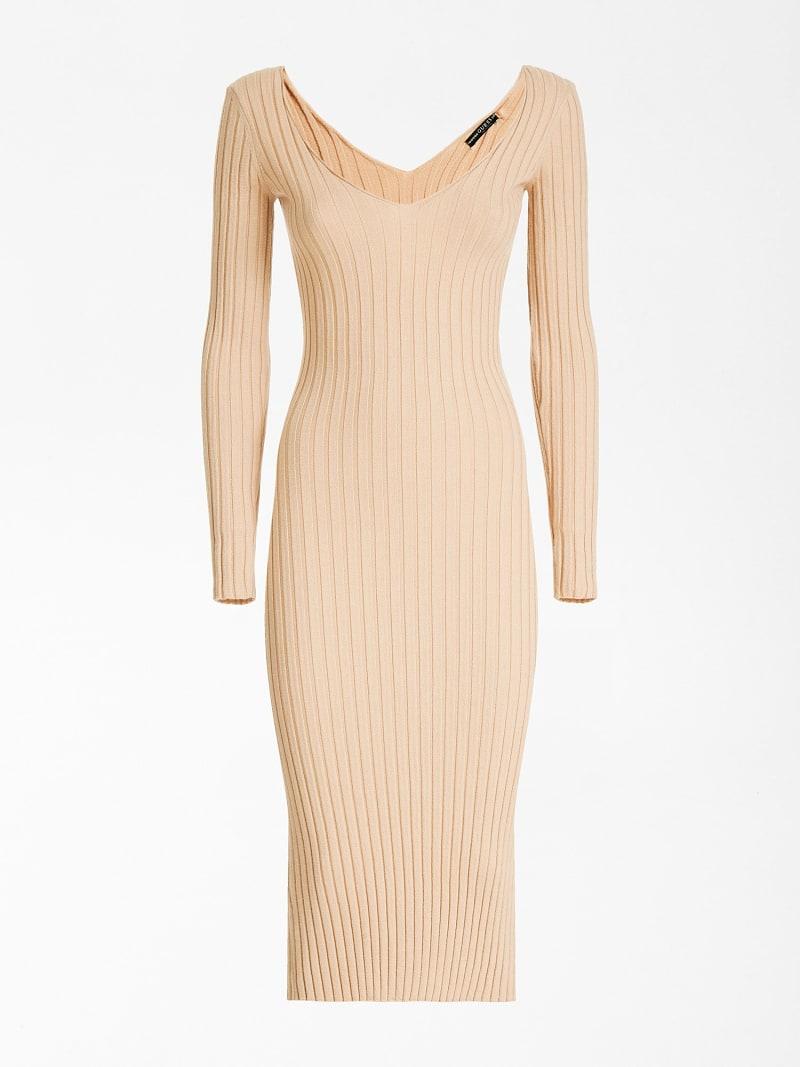 OFF-THE-SHOULDER LONG DRESS  image number 2