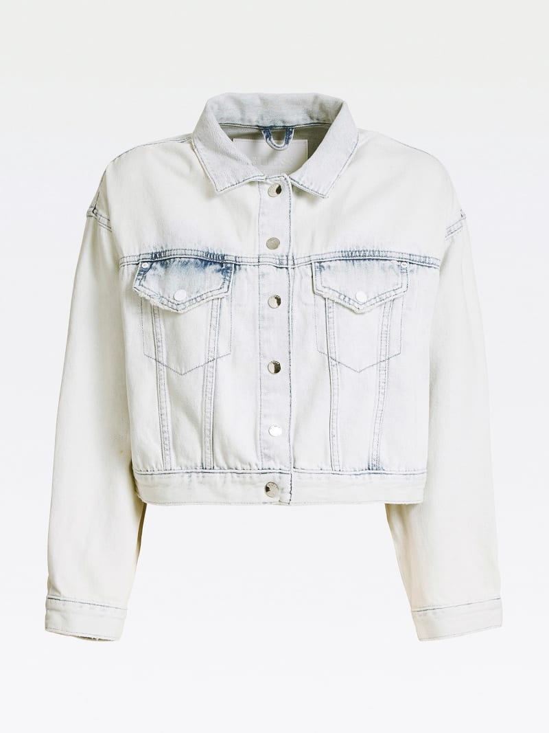 PRINT DENIM JACKET image number 3
