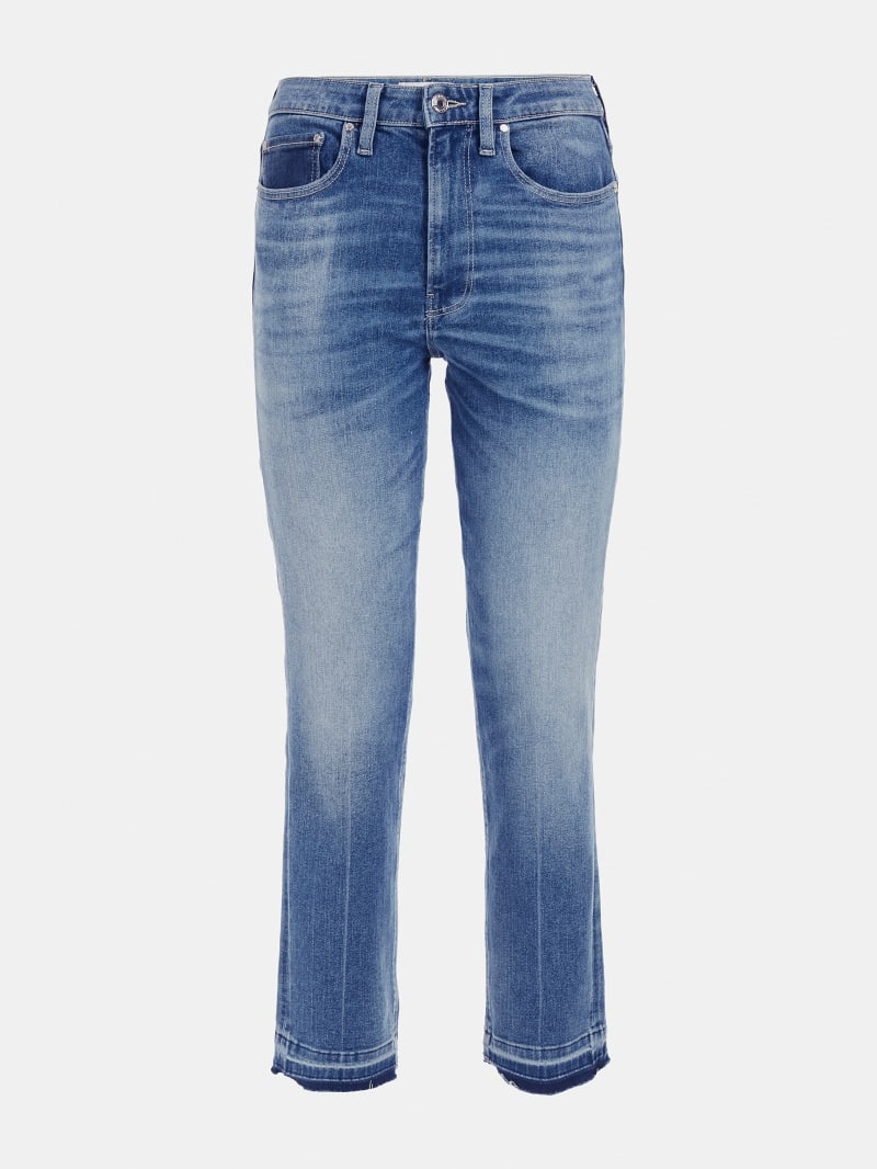 ZIPPER SKINNY FIT DENIM PANT image number 4