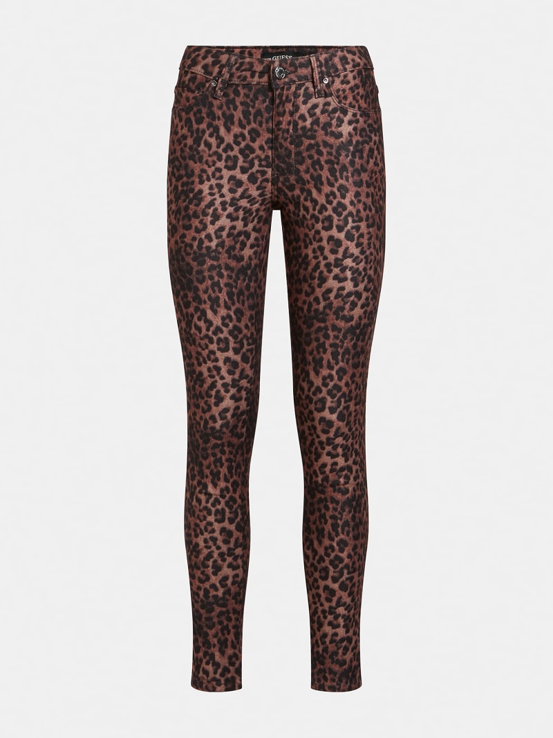 ANIMAL PRINT SHAPING FIT PANT image number 3