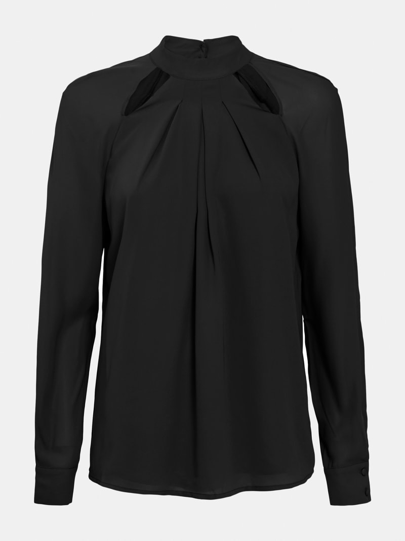 CUT-OUT BLOUSE image number 3