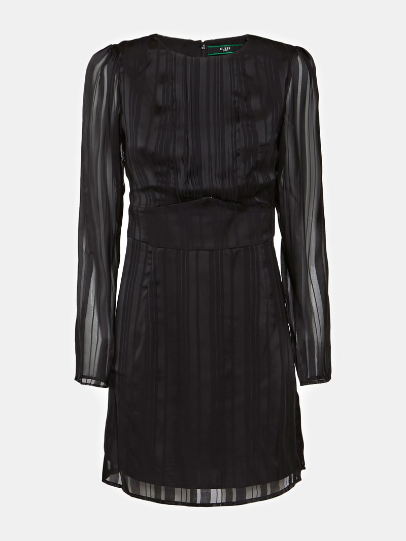PLEATED DETAIL DRESS image number 3
