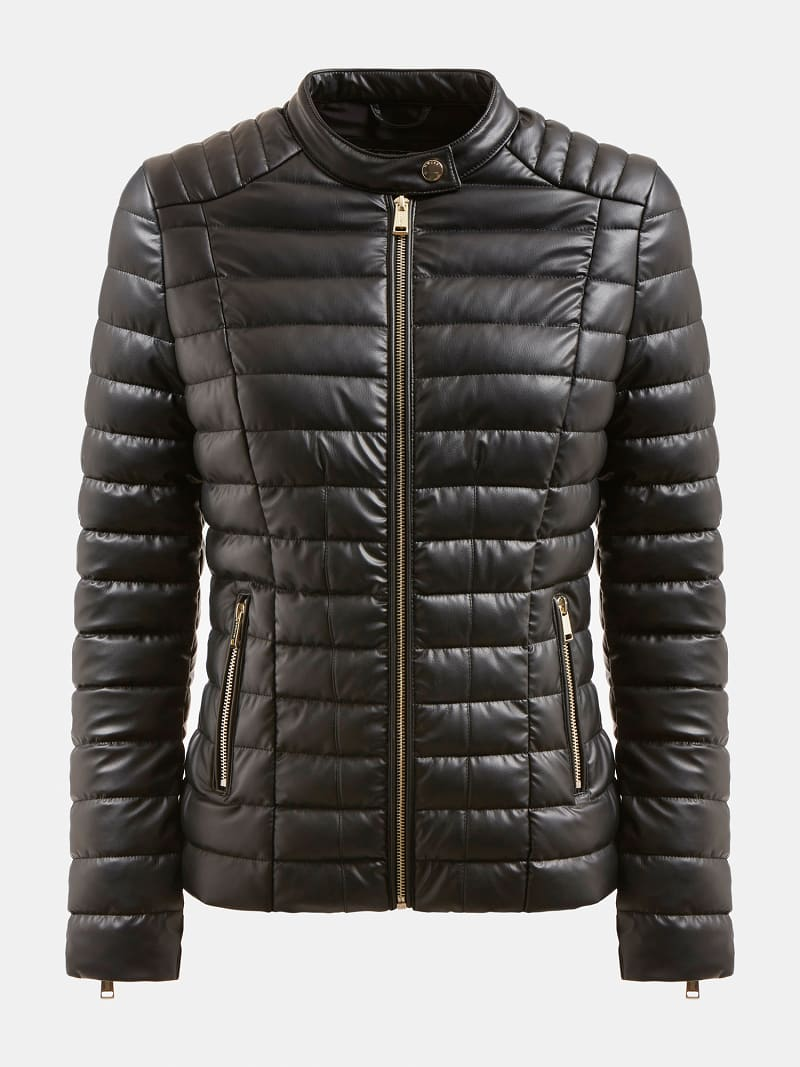 QUILTED JACKET image number 3