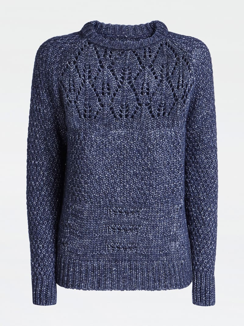 WOOL BLEND PATTERNED SWEATER image number 3
