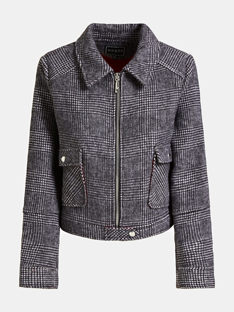 PRINCE OF WALES WOOL JACKET image number 3