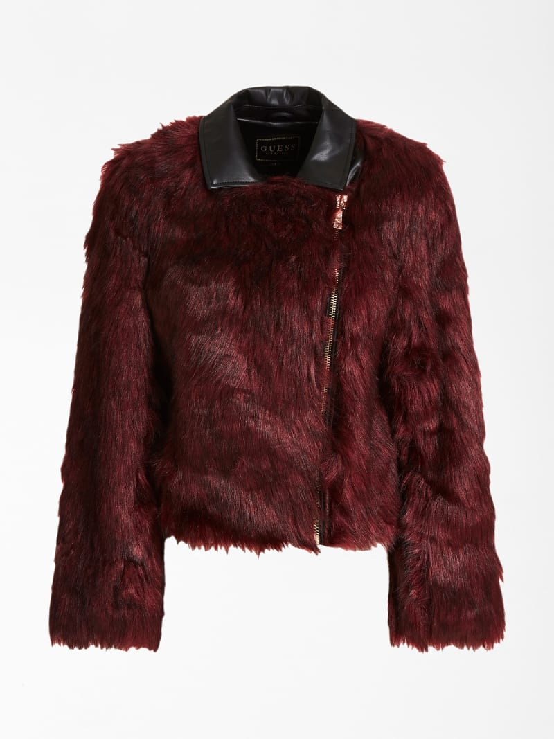 FAUX FUR JACKET image number 3