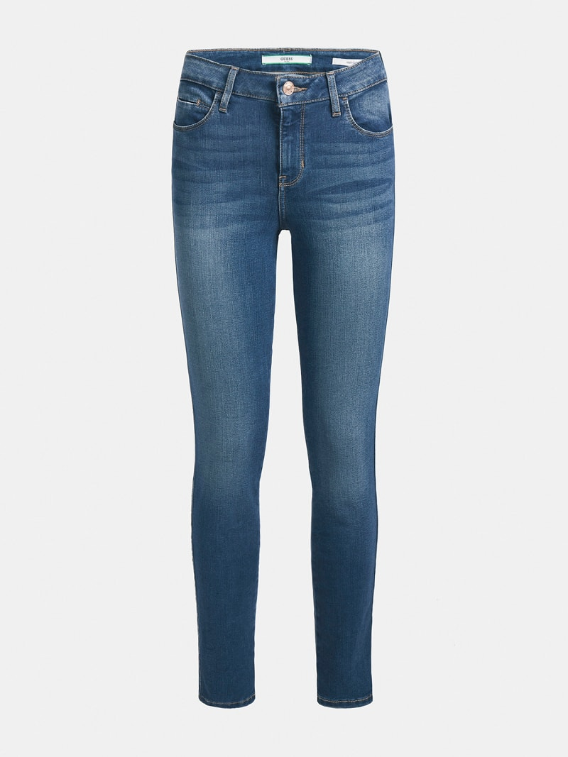 JEANS SKINNY USED-OPTIK image number 3