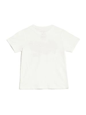 7-18 GUESS Factory Kid/'s Boy/'s Veramesh Color-Block Short Sleeve Tee