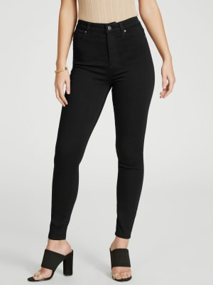 GS-04 Guess Dirty Brilliant Blue Mid Rise Stretch Skinny Jeans