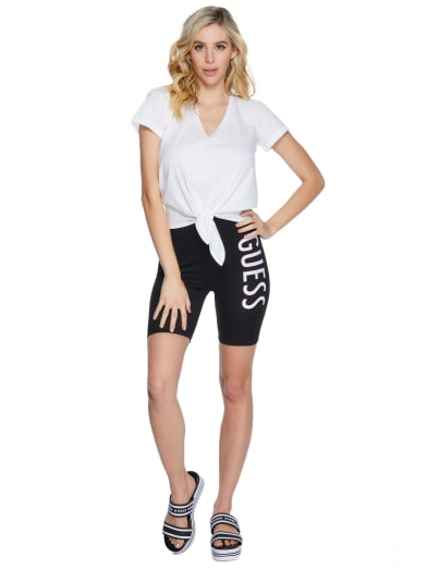 GUESS Factory Jossiah Logo Mesh Shorts 7-18