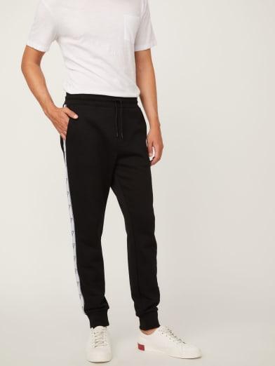 GUESS Pantalon de Jogging Enfant J83Q26 Noir