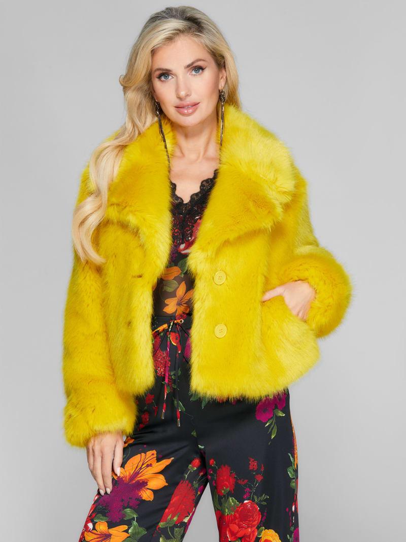 Lory Faux-Fur Coat