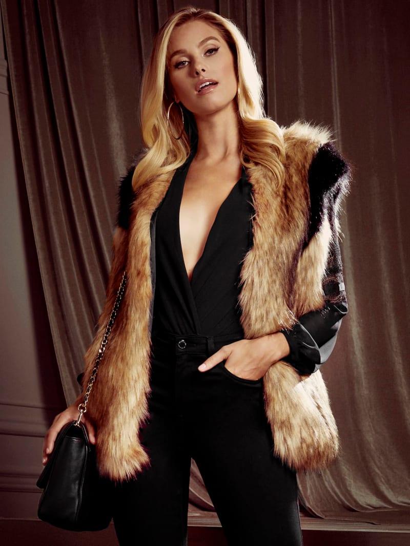 Follow Me Faux-Fur Vest