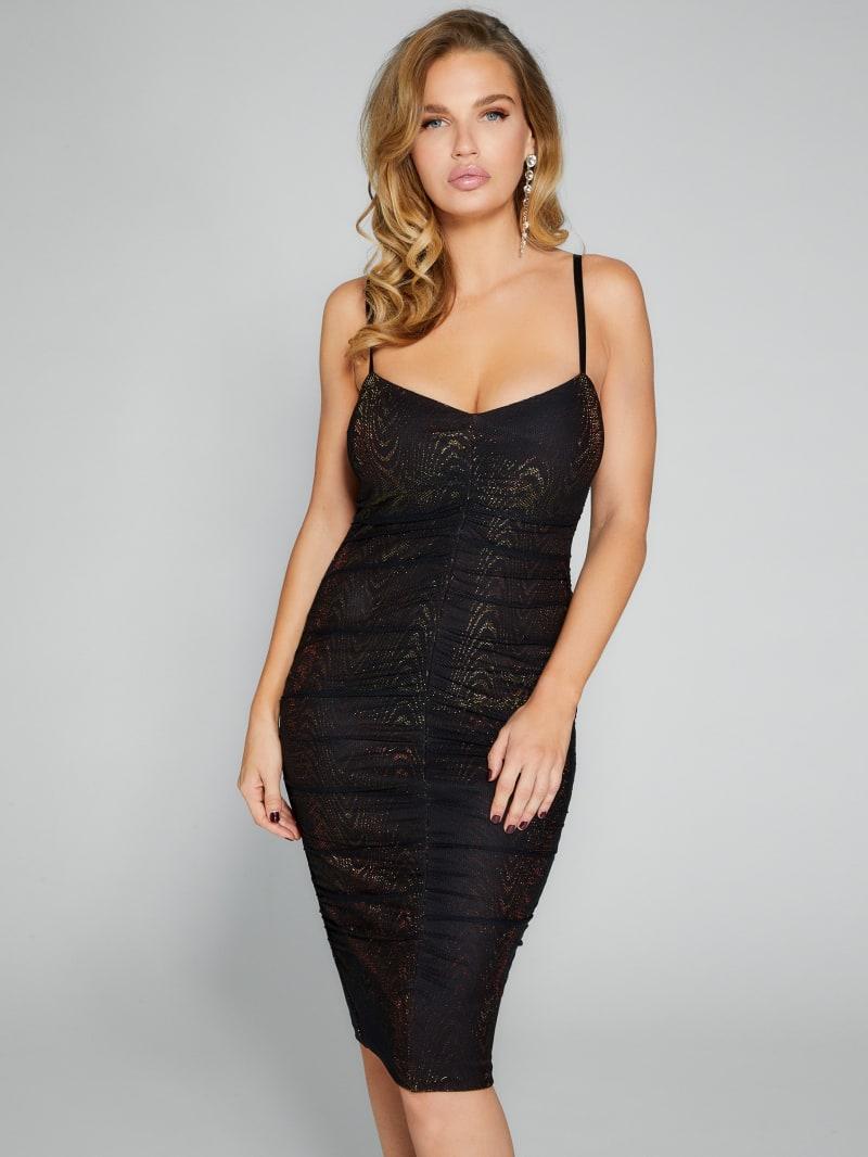 Heli Mesh Midi Dress