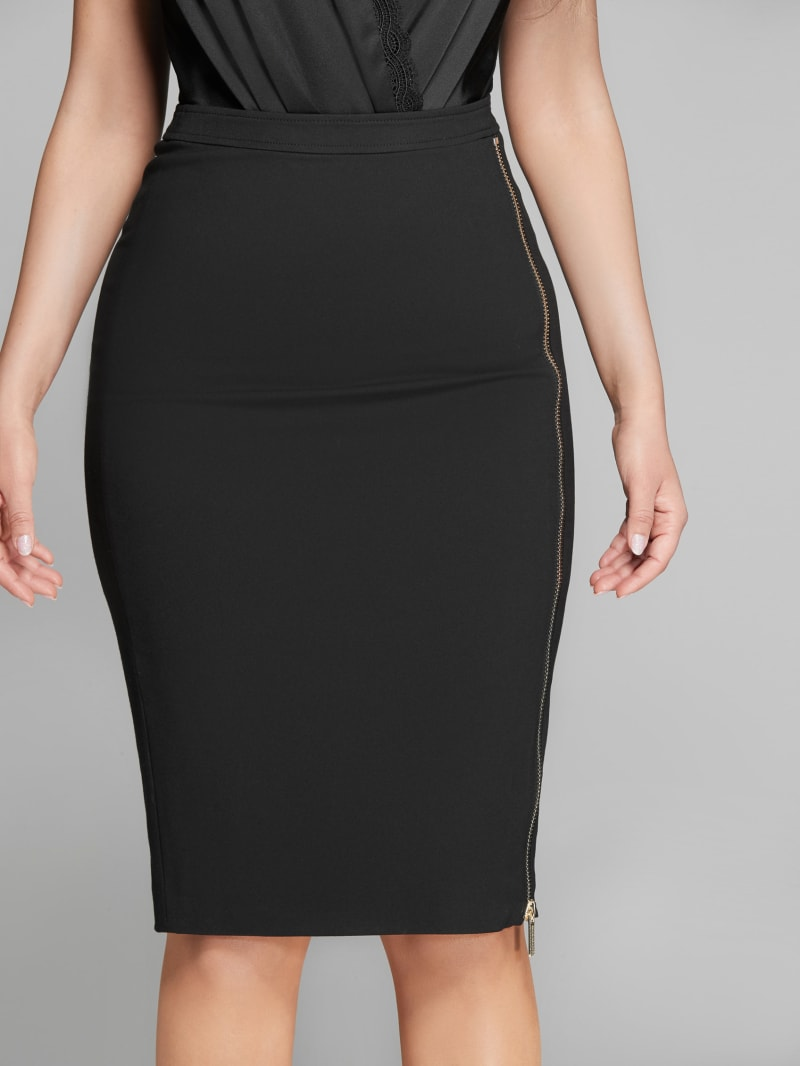 Terry Pencil skirt