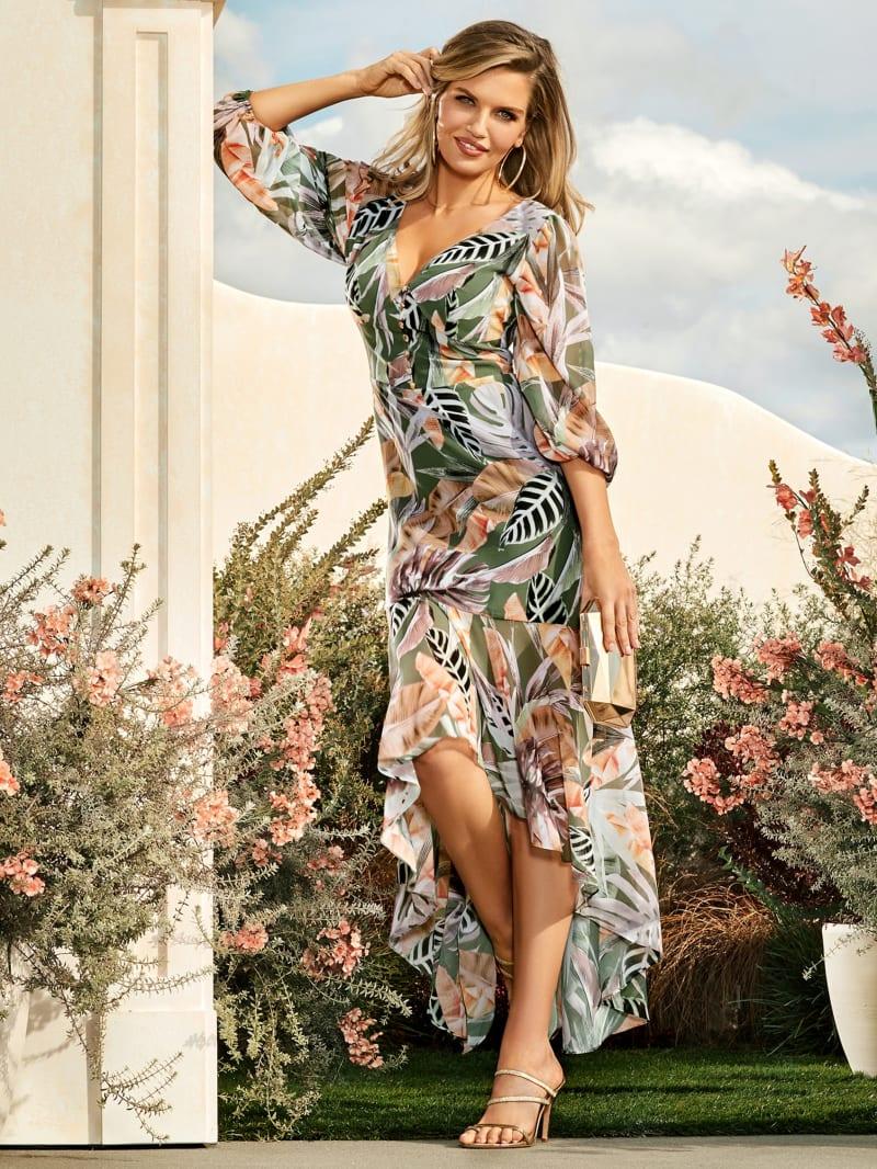 Desert Palm High Low Dress